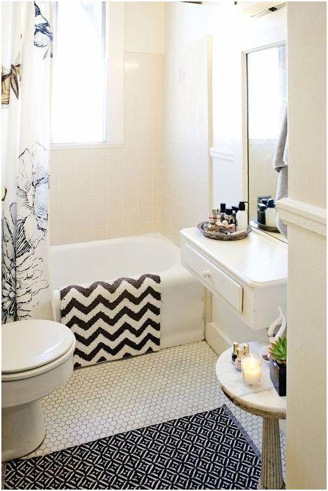 Dobre rozwiązanie do małej łazienki