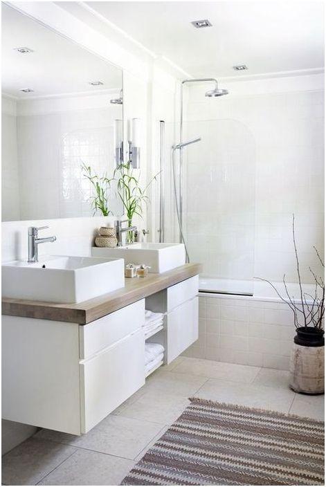 Stylowy dywanik łazienkowy