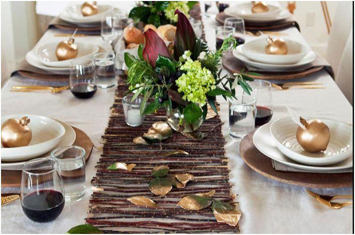 Есенен декор на масата