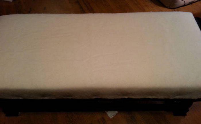 Хлопковая ткань на поролоне
