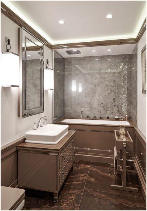 Wnętrze łazienki autorstwa Keira Townsenda