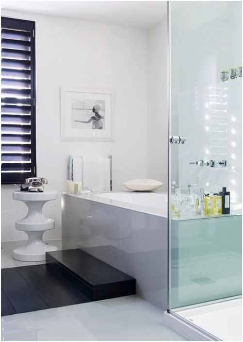 Wnętrze łazienki autorstwa Kelly Hoppen London