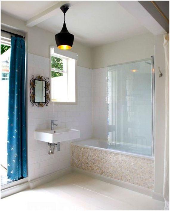 Wnętrze łazienki według ShellShock Designs