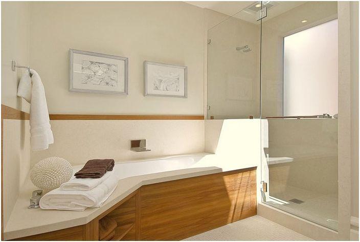 Wnętrze łazienki od EAG Studio
