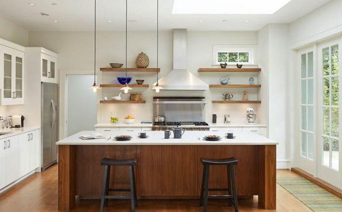 Как да направите без стенни шкафове във вашата кухня