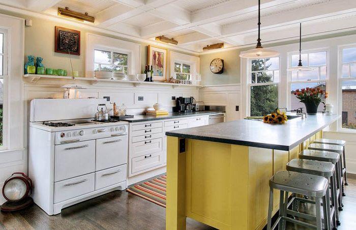 Кухненски интериор от J.A.S. Проектиране и строителство
