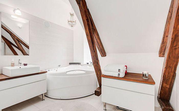 Skandináv stílusú fürdőszoba