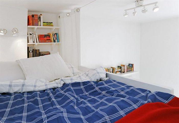 Łóżko na poddaszu to świetna oszczędność miejsca