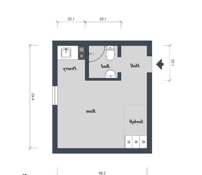 Układ mieszkania