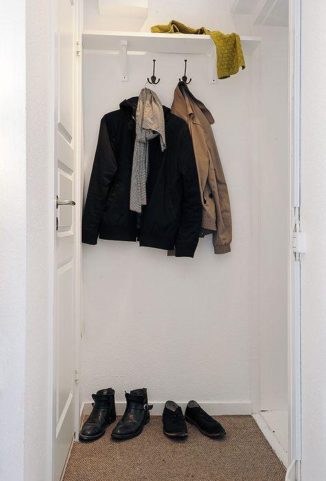 Na korytarzu nie ma nic zbędnego