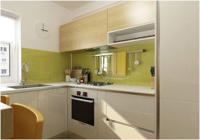 Коректно поставяне на мебели в малка кухня