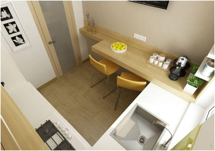 Организация на пространството в малка кухня