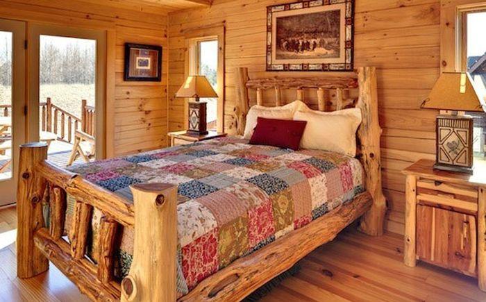 Зашеметяващо дърво легло