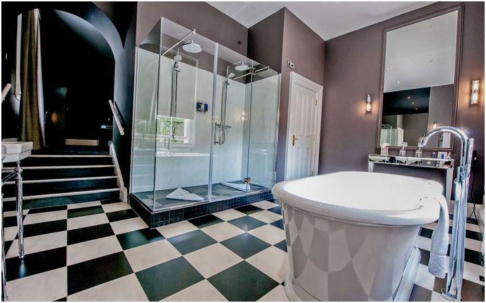 Интериор на банята от Heterarchy