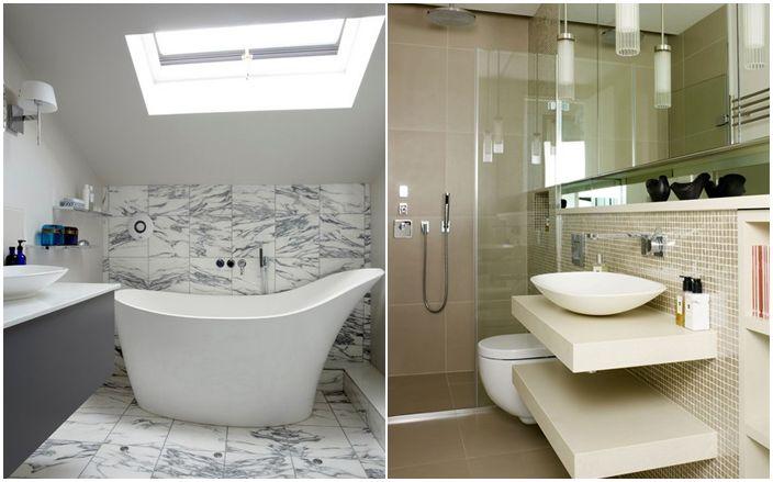 Модерен интериор за баня