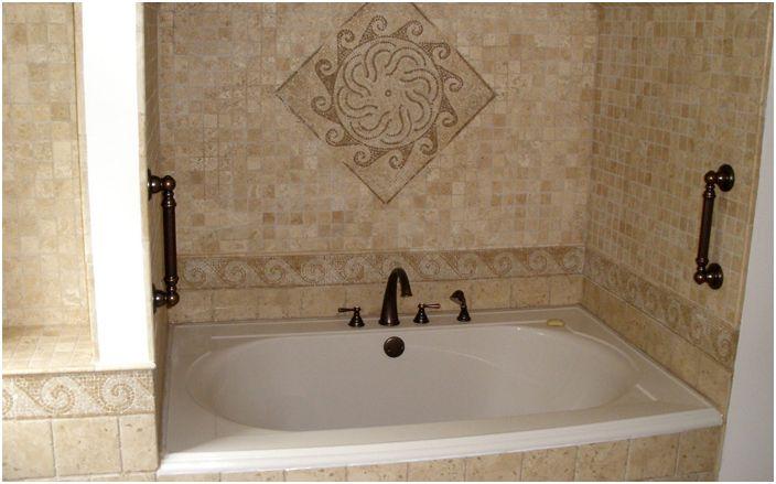 Плочки в интериора на банята