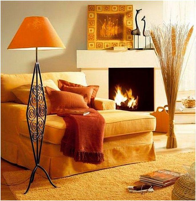 Тази подова лампа насърчава релаксацията