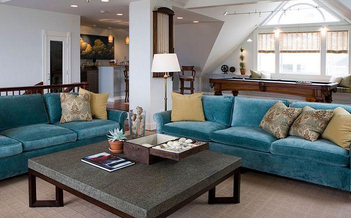 Nappali szoba: Charlie Barnett Associates