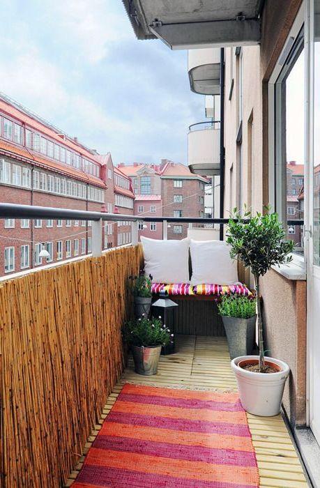 Балкон подреден