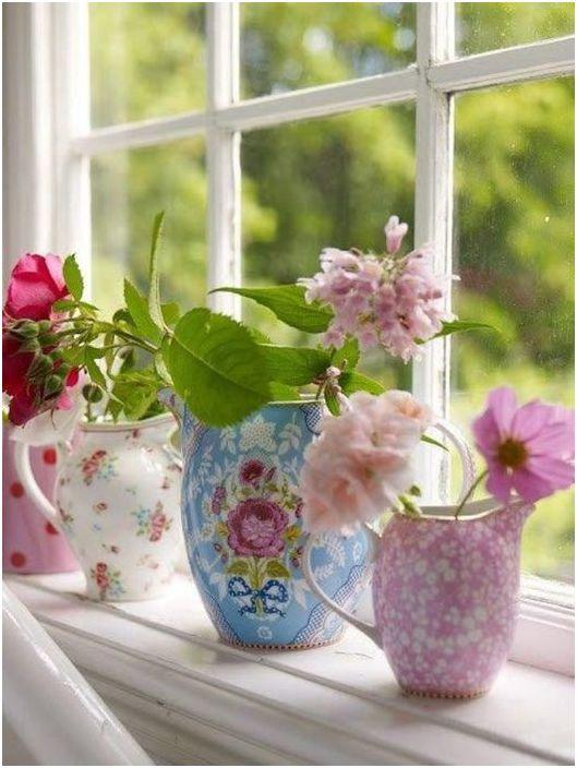 Цветята ще освежат интериора по всяко време на годината