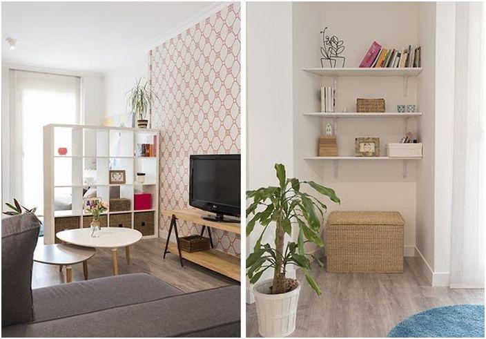 Рационално използване на пространството в малък апартамент
