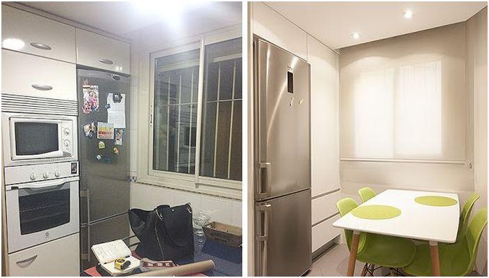 Кухня преди и след обновяване