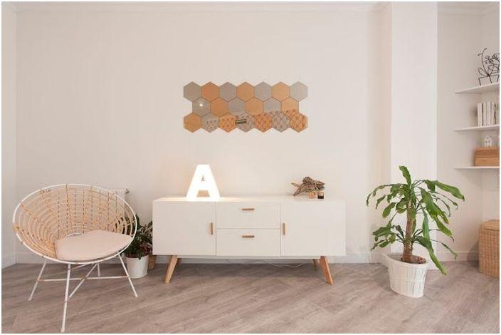 Лаконични мебели в скандинавски стил