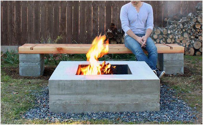 Как да направите бетонна градинска пейка със собствените си ръце