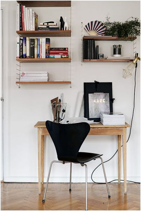 Домашен офис в малък апартамент