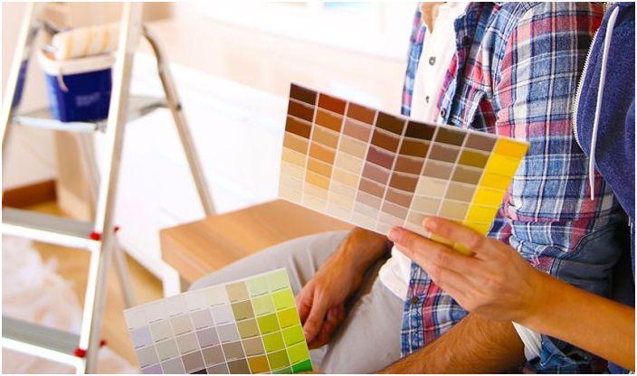 Dziś możesz wybrać farbę na każdy gust i kolor.