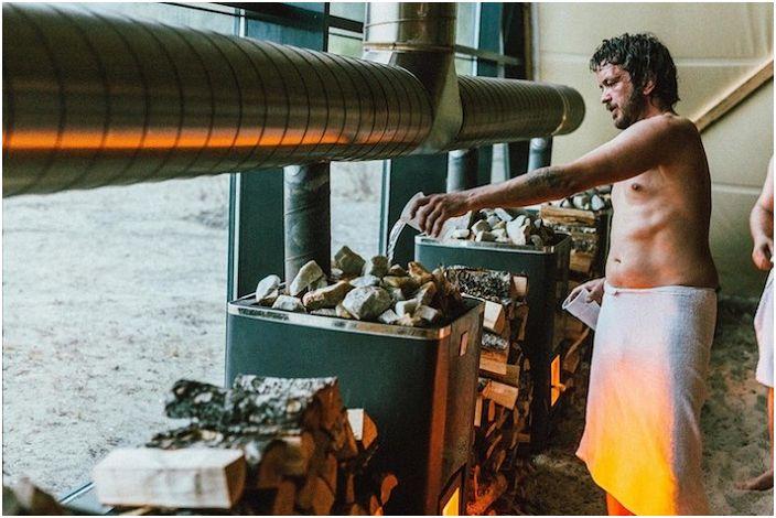 'Agora' - ogromna sauna na norweskim wybrzeżu.