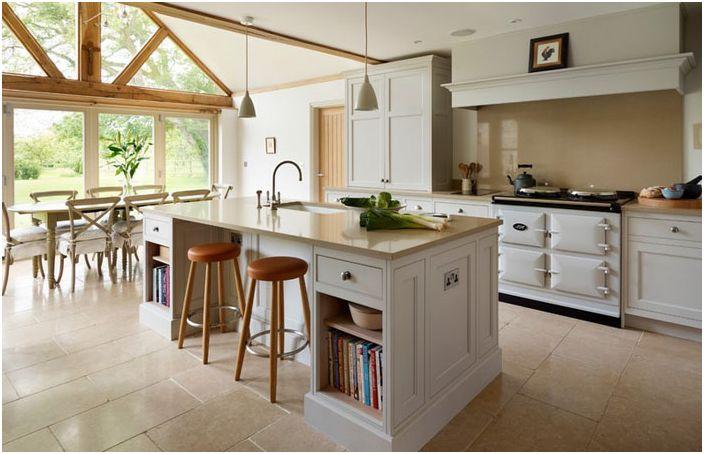 Kitchen interior by Teddy Edwards
