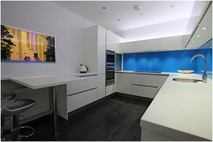 Kitchen interior from LWK Kitchens London