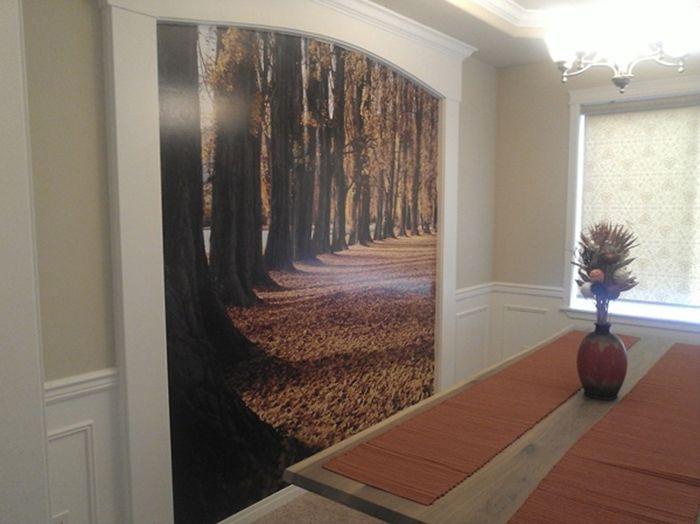 Пейзаж в хола.