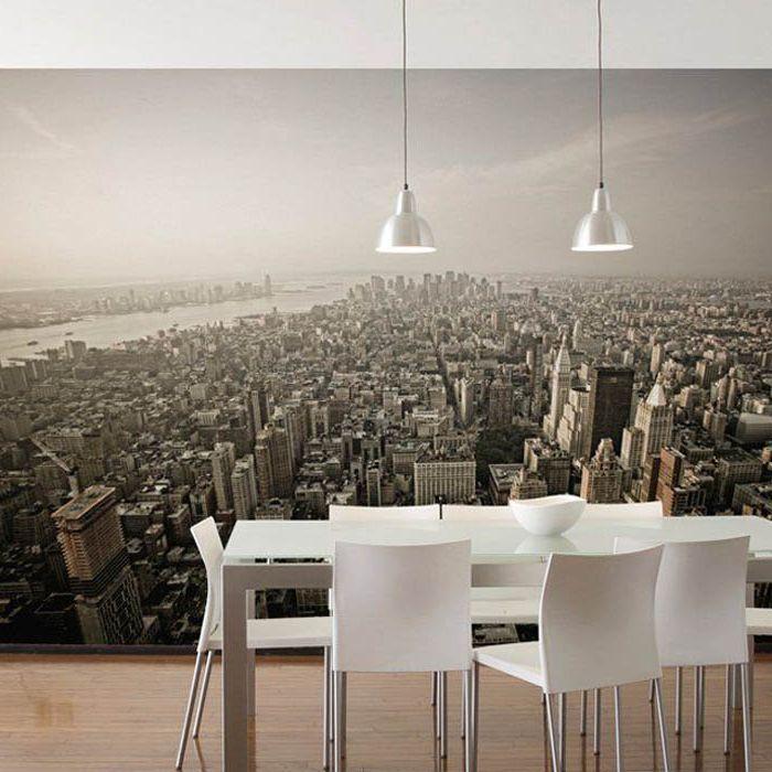 Панорама в трапезарията.