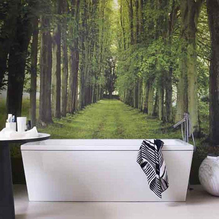 Стенописи в банята.