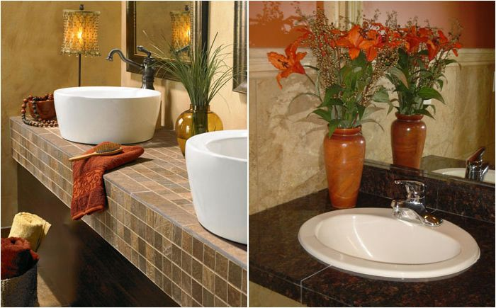 Jak wybrać blat łazienkowy: zalety i wady najpopularniejszych materiałów