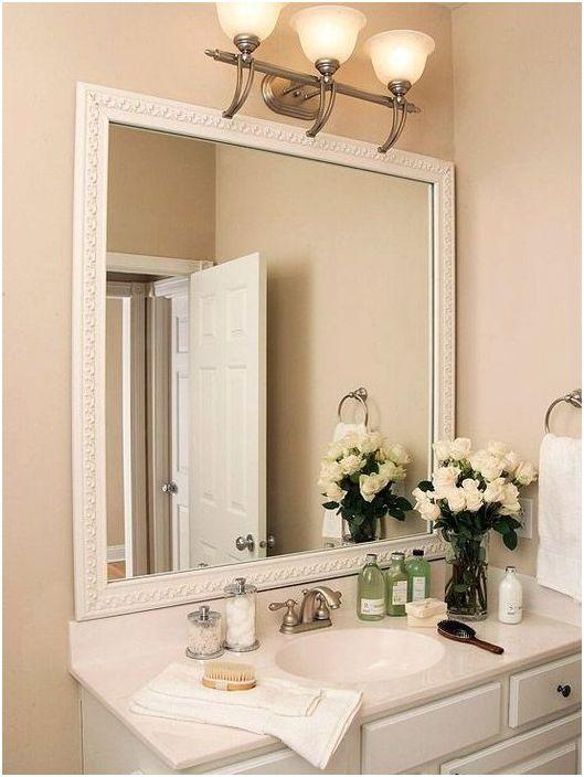 Голямо огледало за баня