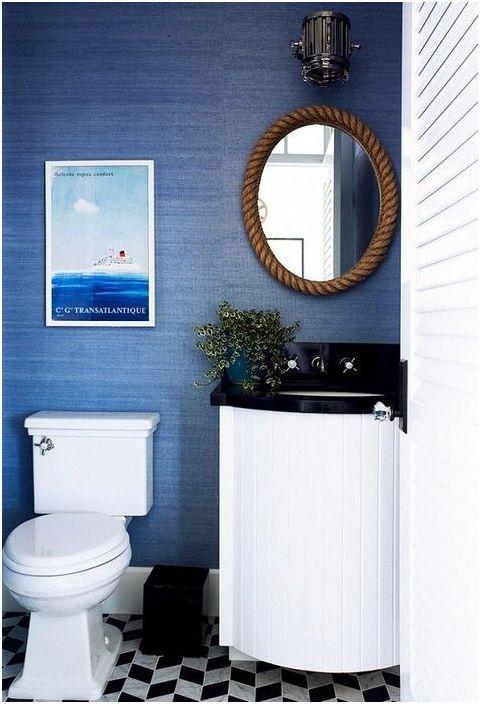 Огледало в морски стил