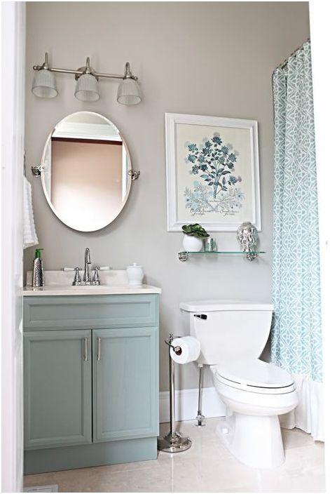 Овално огледало за баня