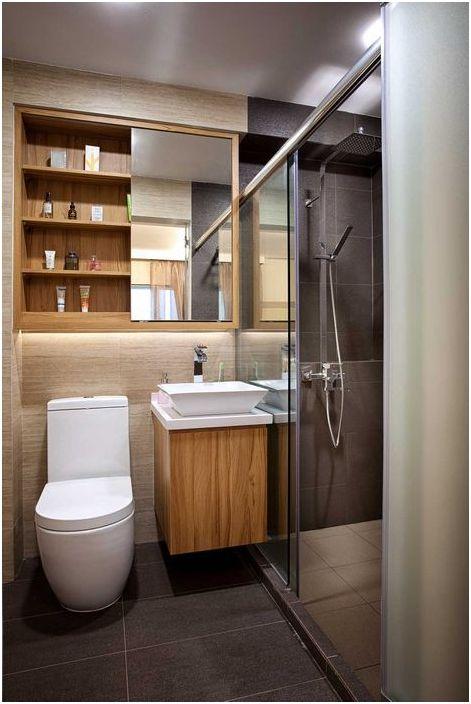 Стилно и лаконично огледало за баня