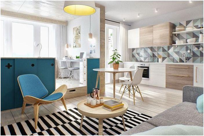 Как да скриете място за спане в едностаен апартамент?