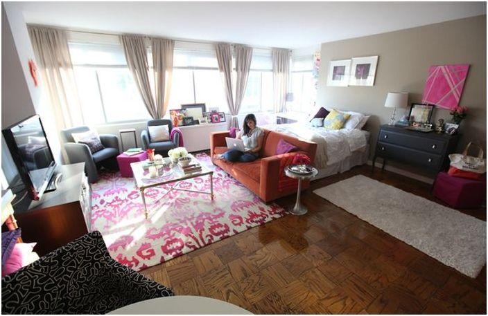 Малък студио апартамент за момиче