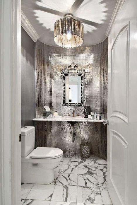 Луксозна сива баня