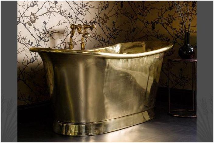 Латунная ванна