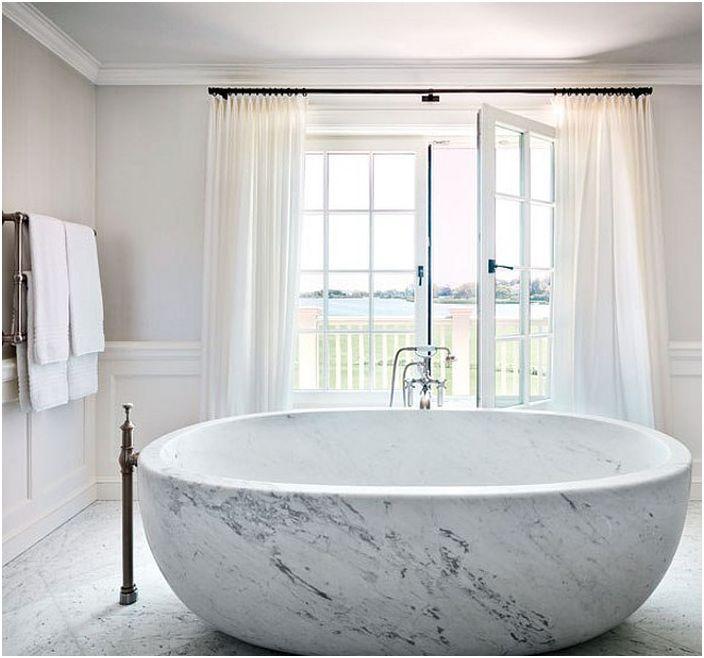 Bain en marbre