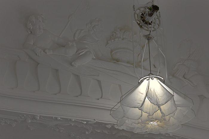 Кинетични лампи Shylight.