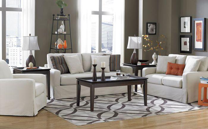 Mintás szőnyeg a nappaliban
