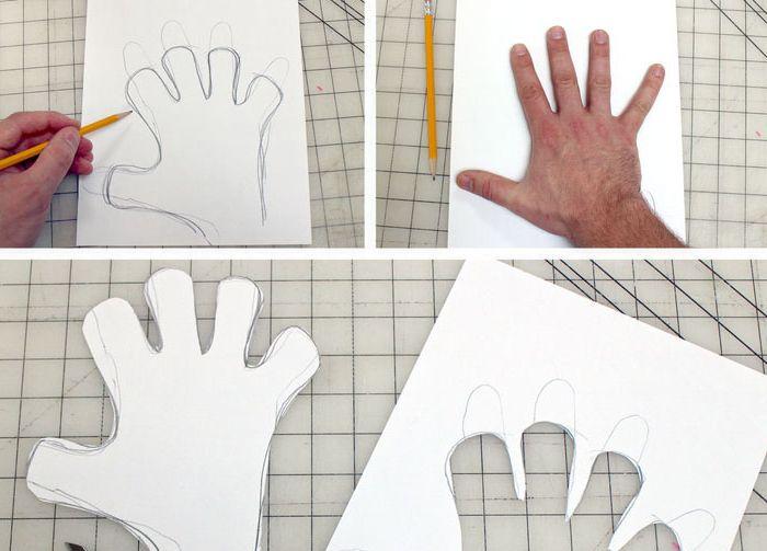 Контур на ръцете