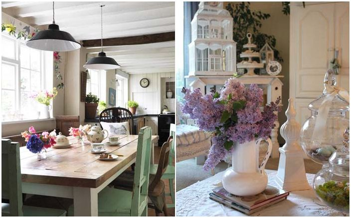 Nuhjuisen tyylikkään keittiön kauneus ja arkuus